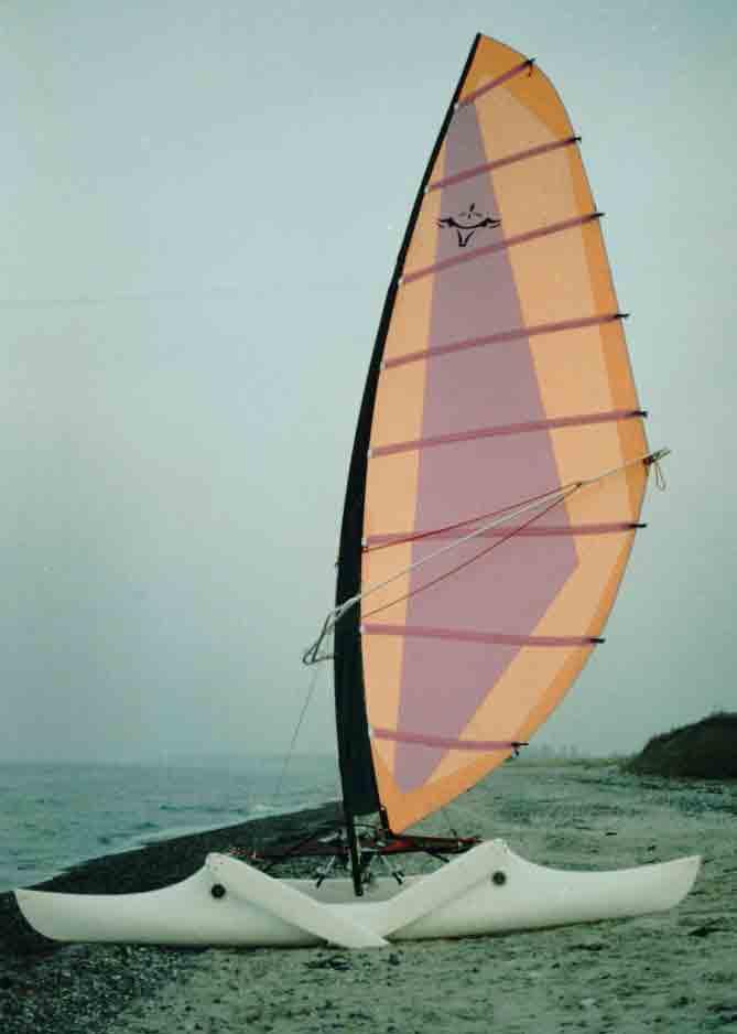 Design Prize Awarded 1 2 Person Sailing Proa For Coast Lakes
